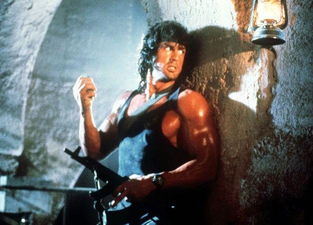 Sylvester Stallone as John Rambo: Rambo III